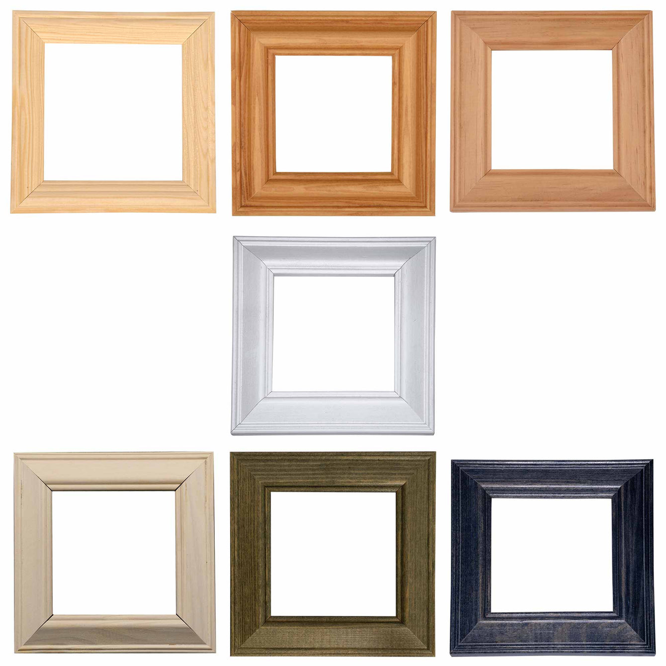 ElekTek Switch Surround Ovolo Frame Cover Finger Plate Pine Shades - Buy It Better Unfinished Pine