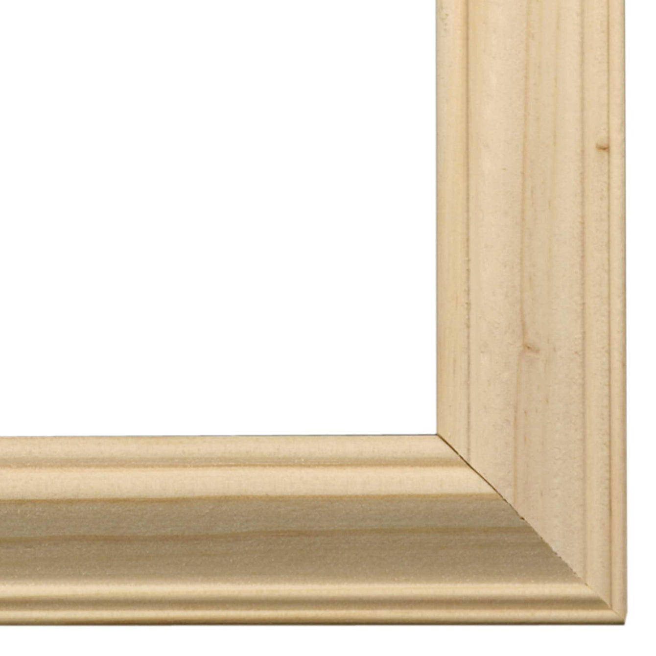 ElekTek Switch Surround Ovolo Frame Cover Finger Plate Pine Shades White Pine