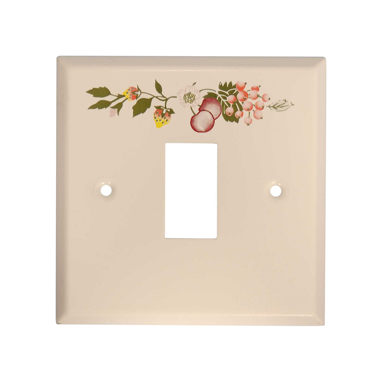 ElekTek Light Switch Conversion Cover Plate Single White Fresh Fruit Eternal Beau Teddy Bear - Buy It Better Eternal Beau