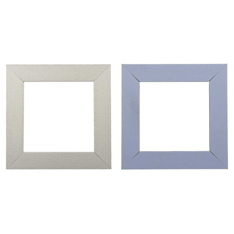 ElekTek Switch Surround Quadrant Frame Cover Finger Plate Primed Ready To Paint