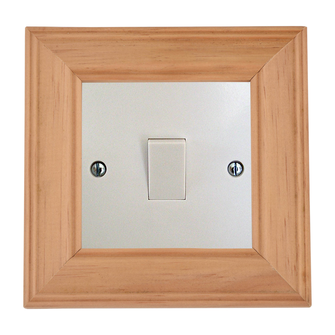 ElekTek Switch Surround Ovolo Frame Cover Finger Plate Pine Shades - Buy It Better