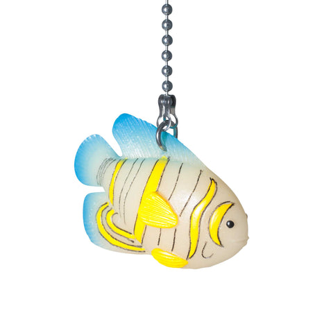 ElekTek Light Pull Chain Tropical Fish Design Glow in the Dark With 80cm Matching Chain