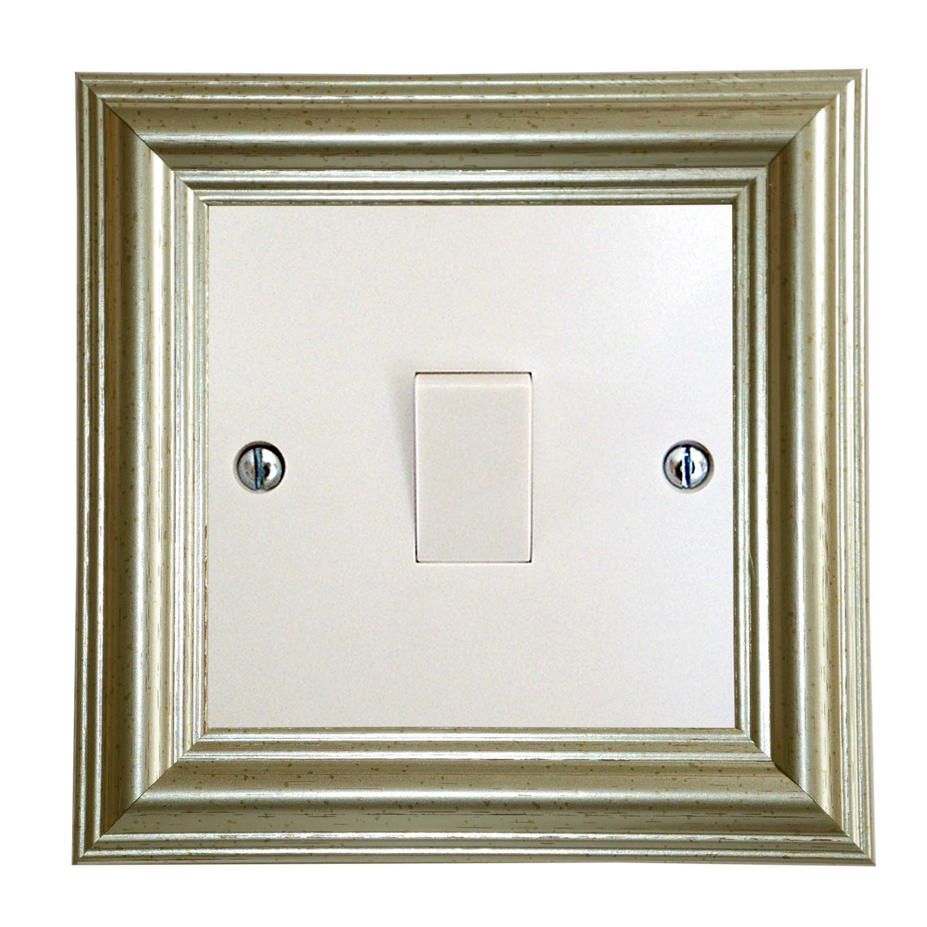ElekTek Switch Surround Edwardian Frame Cover Finger Plate Colours