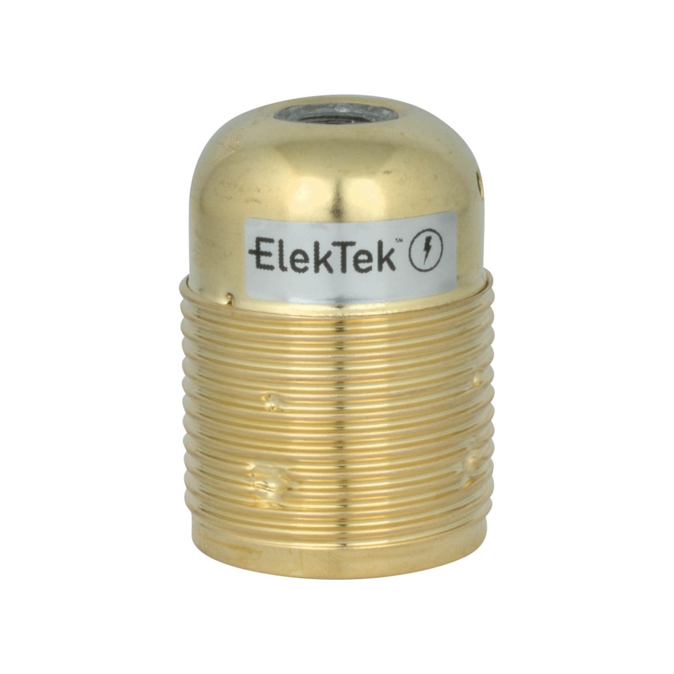 ElekTek ES Edison Screw E27 Economy Cord Grip Lamp Holder With Shade Ring - Buy It Better Copper