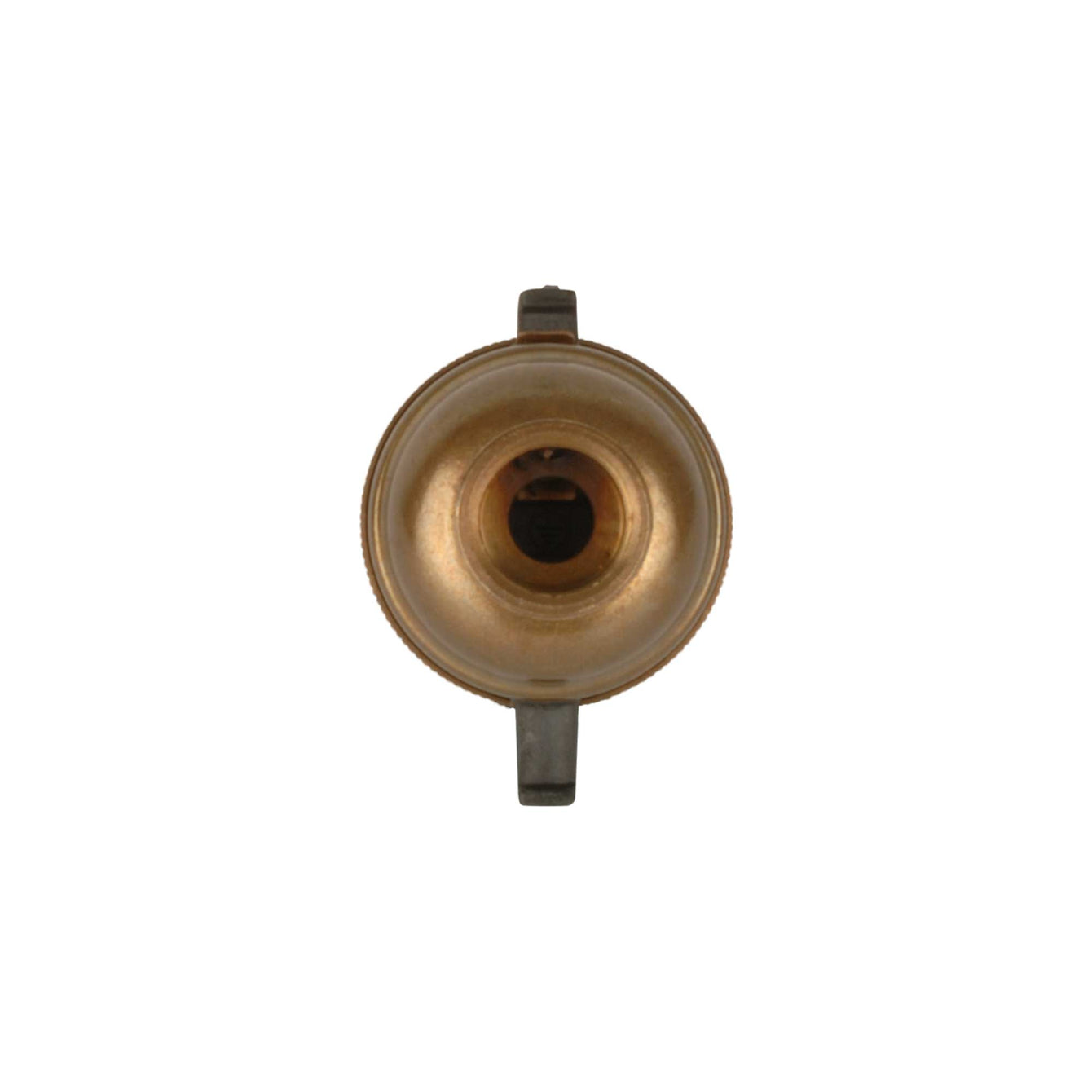ElekTek Safety Switch Lamp Holder Bayonet Cap B22 10mm or Half Inch Entry With Shade Ring Solid Brass - Buy It Better Nickel / 10mm