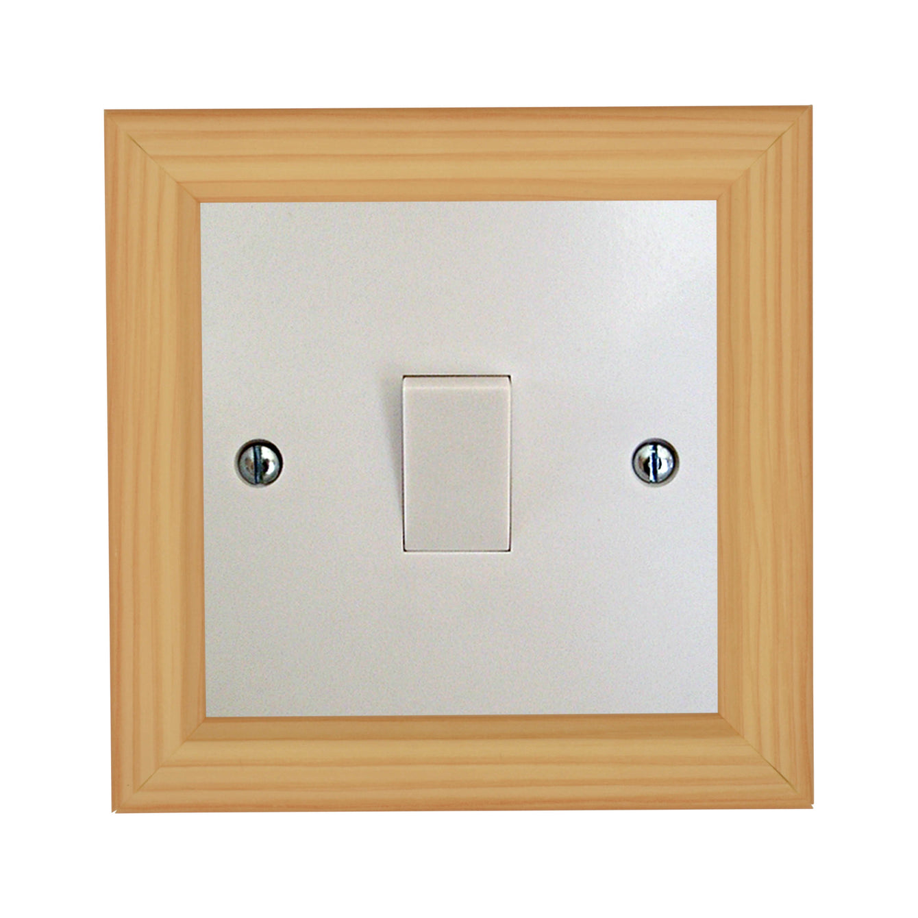ElekTek Switch Surround Frame Cover Finger Plate Rivoli Colours - Buy It Better Walnut/Gold