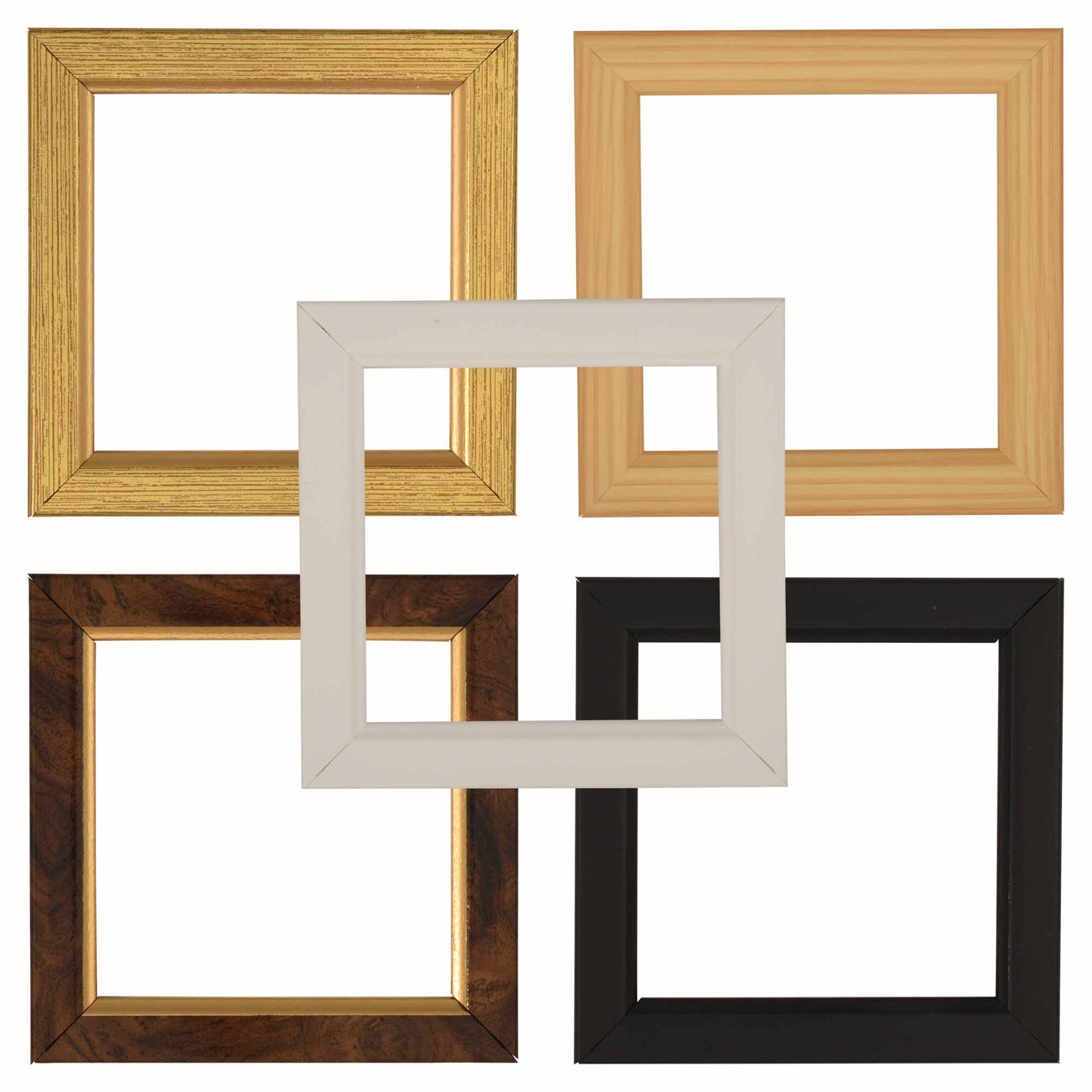 ElekTek Switch Surround Frame Cover Finger Plate Rivoli Colours - Buy It Better Grained Gold