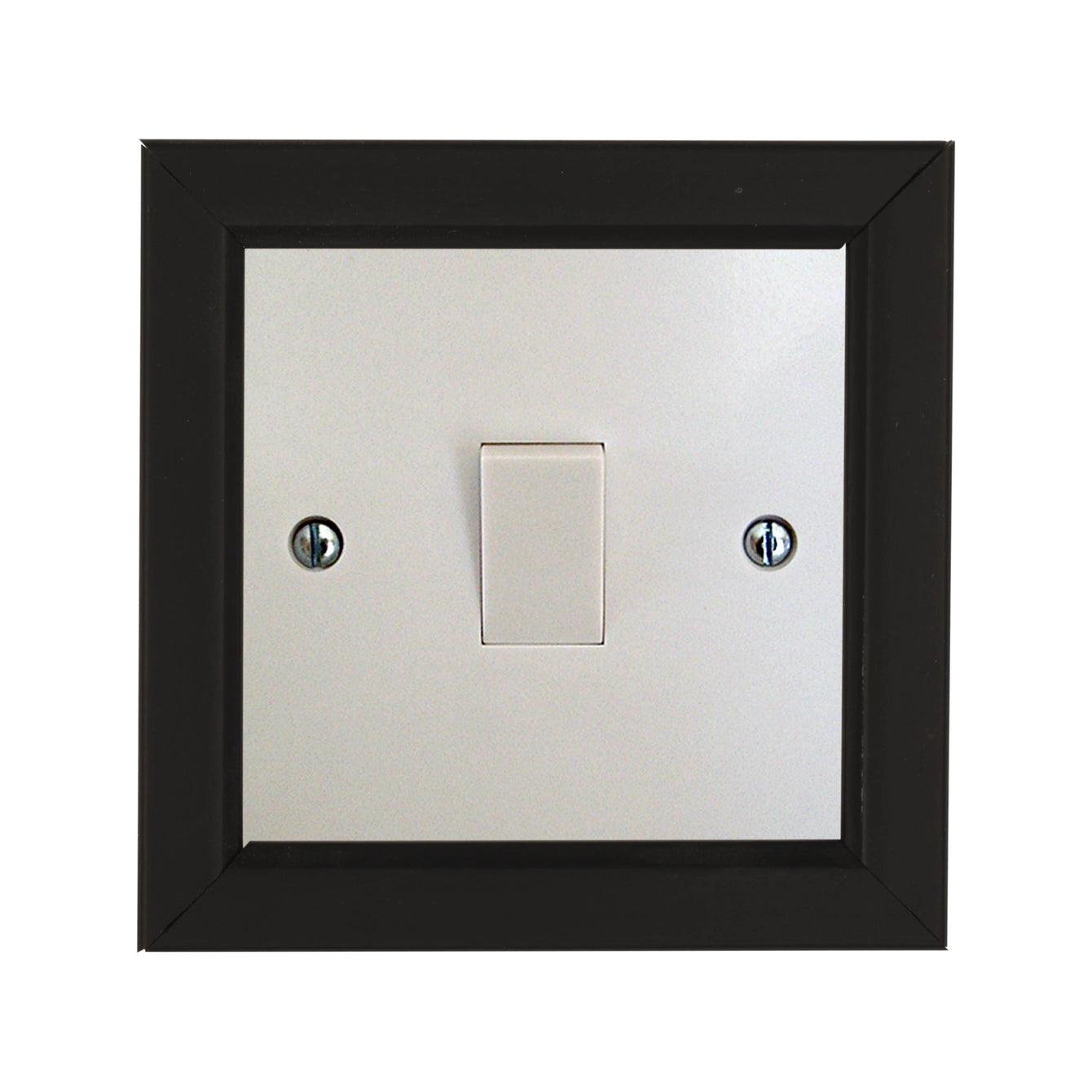 ElekTek Switch Surround Rivoli Frame Cover Finger Plate Colours - Buy It Better