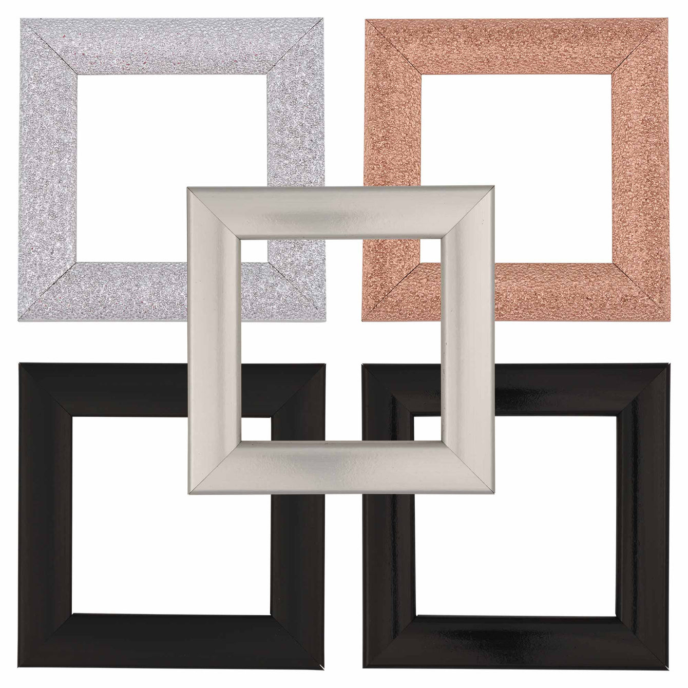 ElekTek Switch Surround Milano Frame Cover Finger Plate Colours - Buy It Better Satin Silver