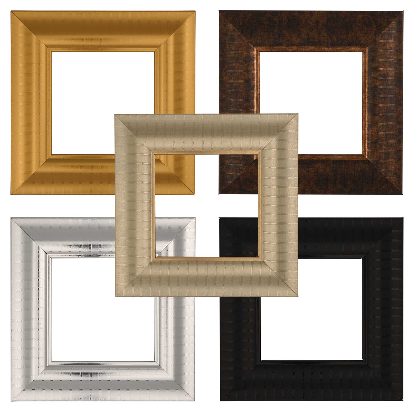 ElekTek Switch Surround Frame Cover Finger Plate Verona Colours Stripe Effect - Buy It Better Gold Stripe