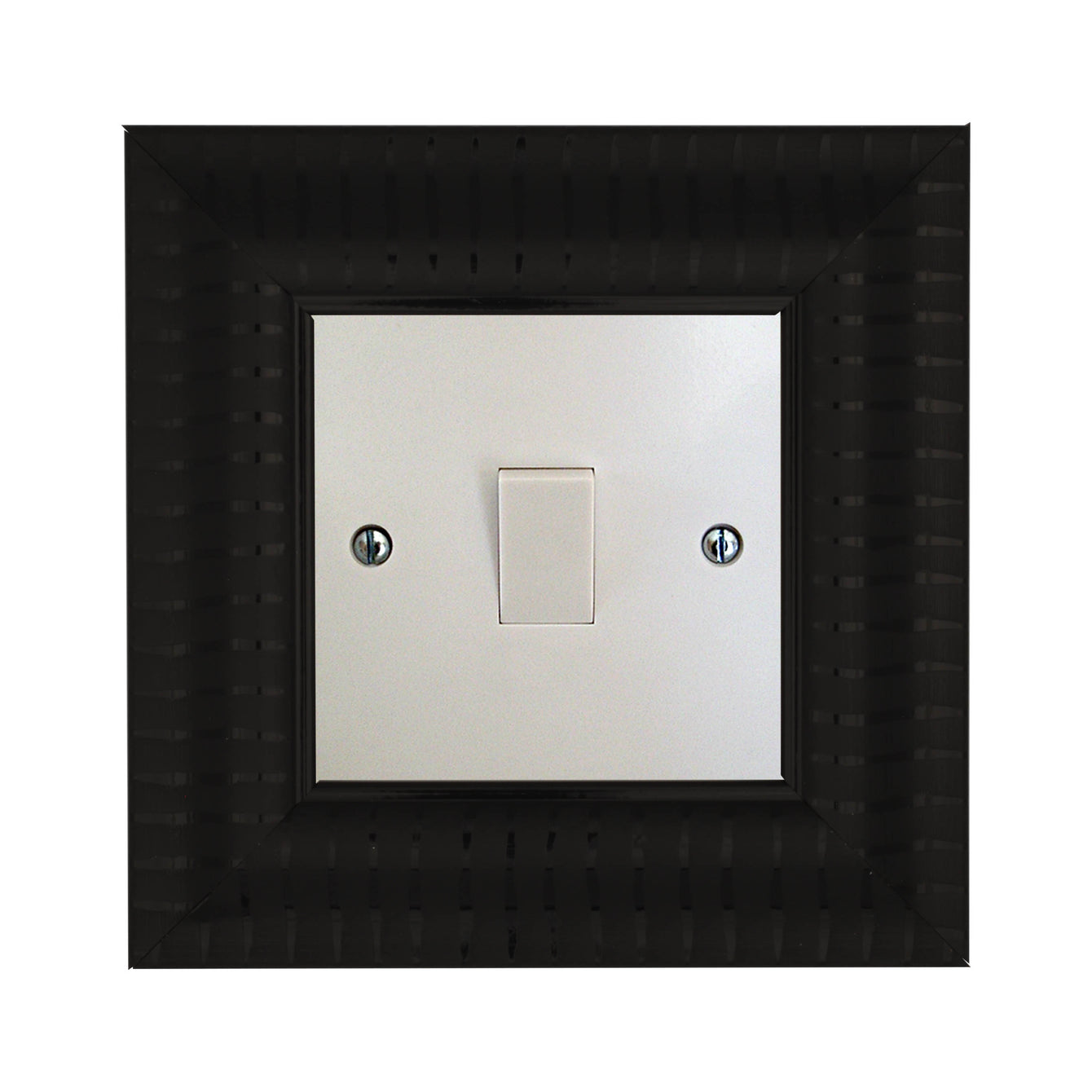 ElekTek Switch Surround Verona Frame Cover Finger Plate Colours Stripe Effect - Buy It Better