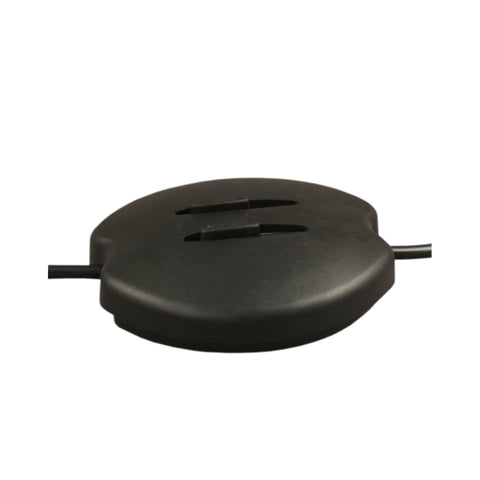 ElekTek In Line Oval Foot Dimmer Black 60-300w