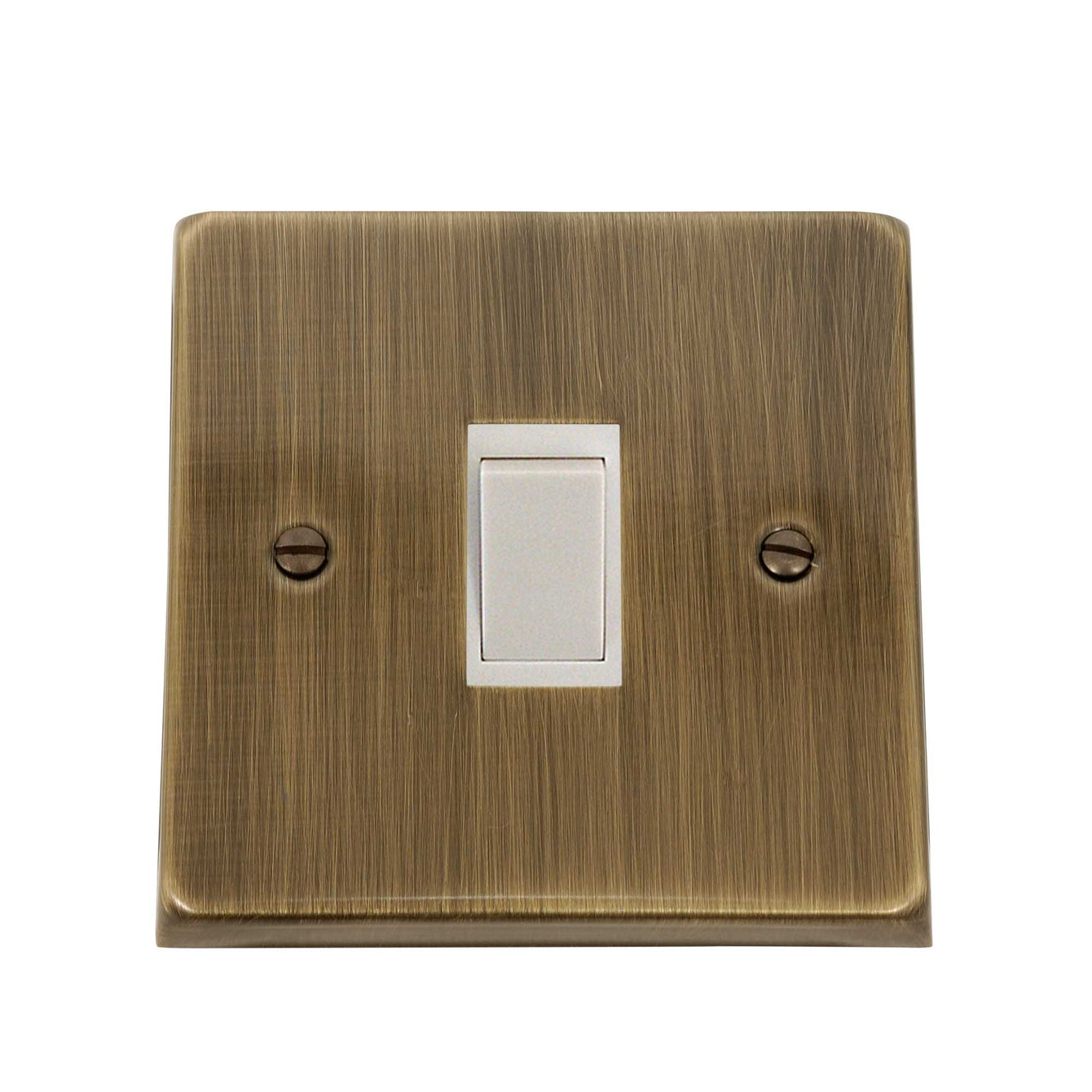 ElekTek Light Switch Conversion Cover Plate Single Victorian - Buy It Better Fusion Bronze