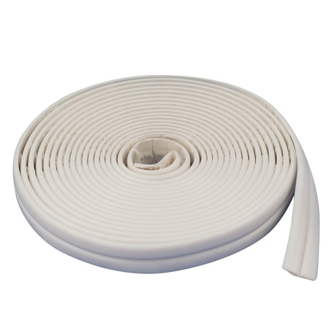 TrimSil Sealing Strip Bath or Wall 22mm x 3.35m White Replaces Silicone Sealant