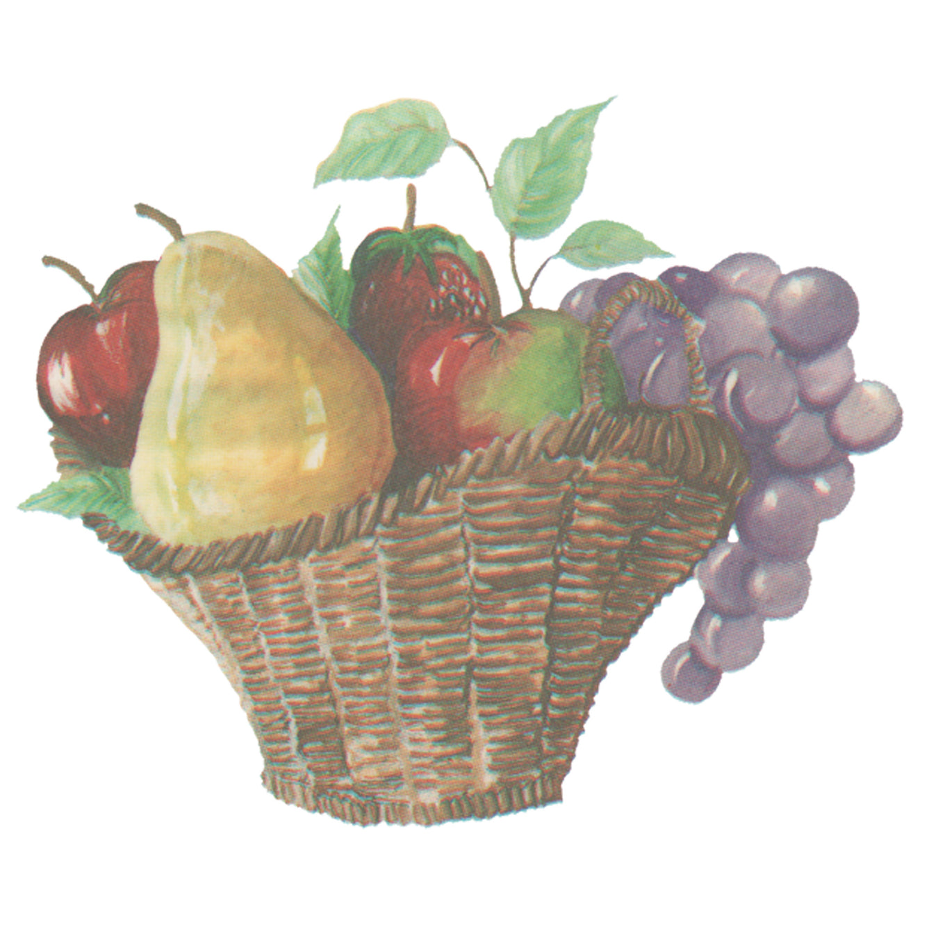 Water Slide Tile Transfers Inset Evesham Fair Basket of Fruit 5 Pack - Buy It Better Grecco Flower