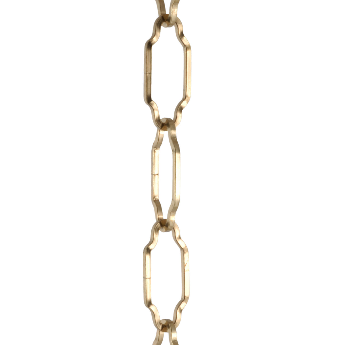 ElekTek Gothic Open Link Chain for Chandelier & Lighting 45mm x 19mm Per Linear Metre - Buy It Better Antique Brass