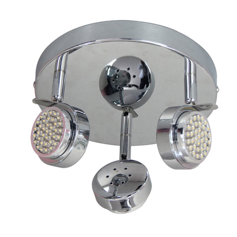 Redbridge 3 Spot Plate, 4 and 6 Bar LED Light
