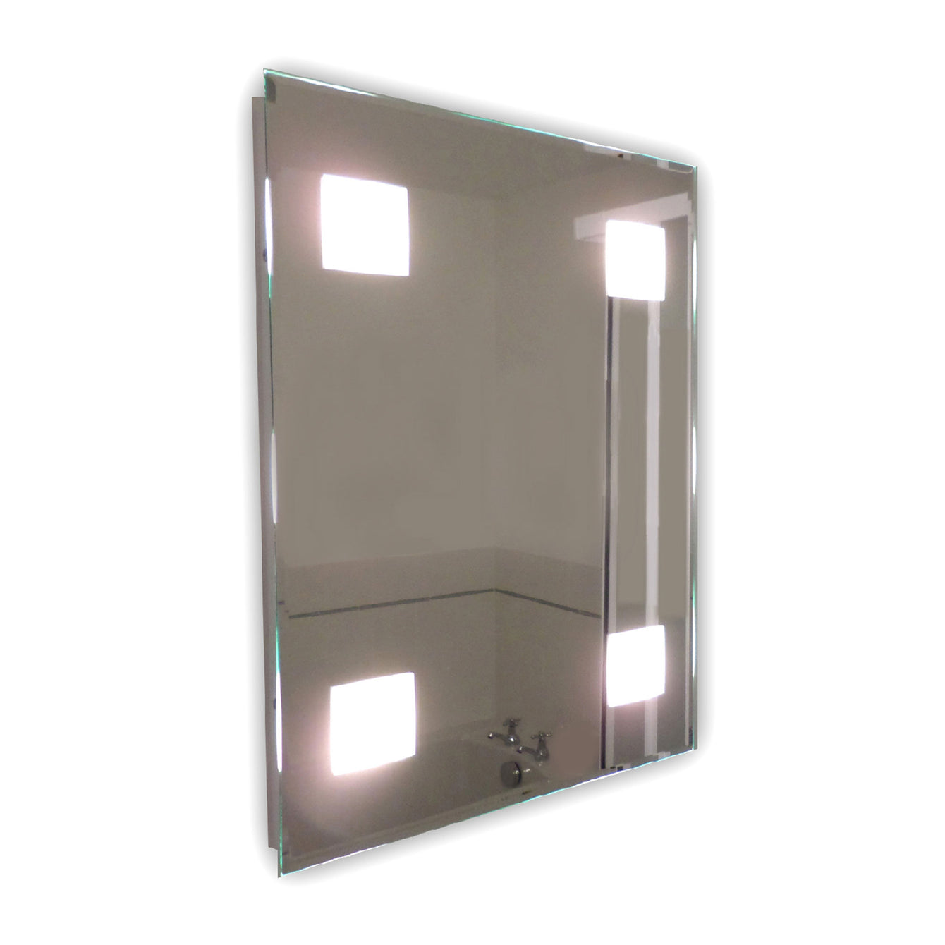 Snaresbrook Rectangular Mirror LED Light - Buy It Better Standard