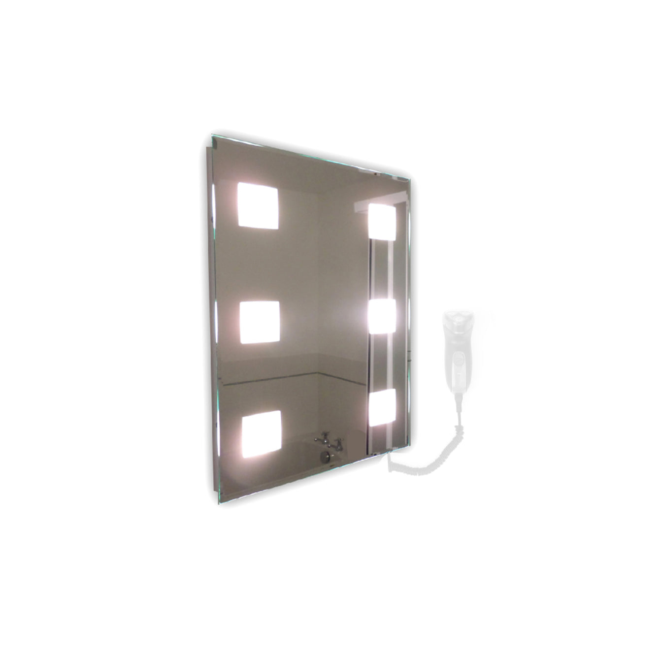 Snaresbrook Rectangular Mirror LED Light - Buy It Better Landscape