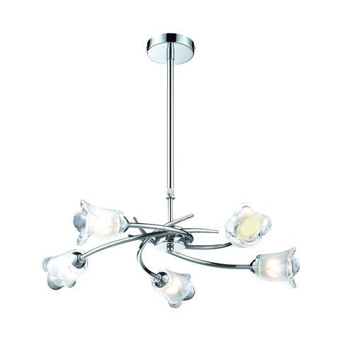 Eastcote 5 Arm Pendant LED Light