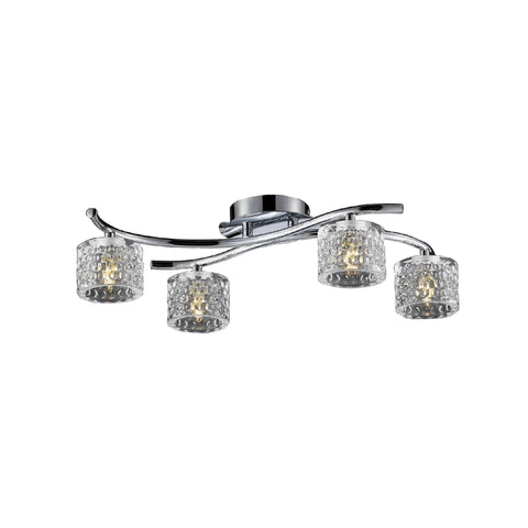 Finsbury 4, 5 and 8 Arm Pendant LED Light