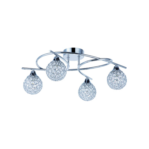 Osterley 4, 5, 6 and 6 plus 6 Arm Pendant LED Light