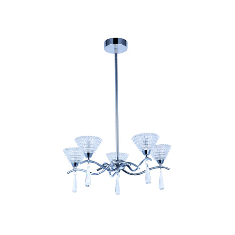 Holloway 5 and 7 Arm Pendant LED Light