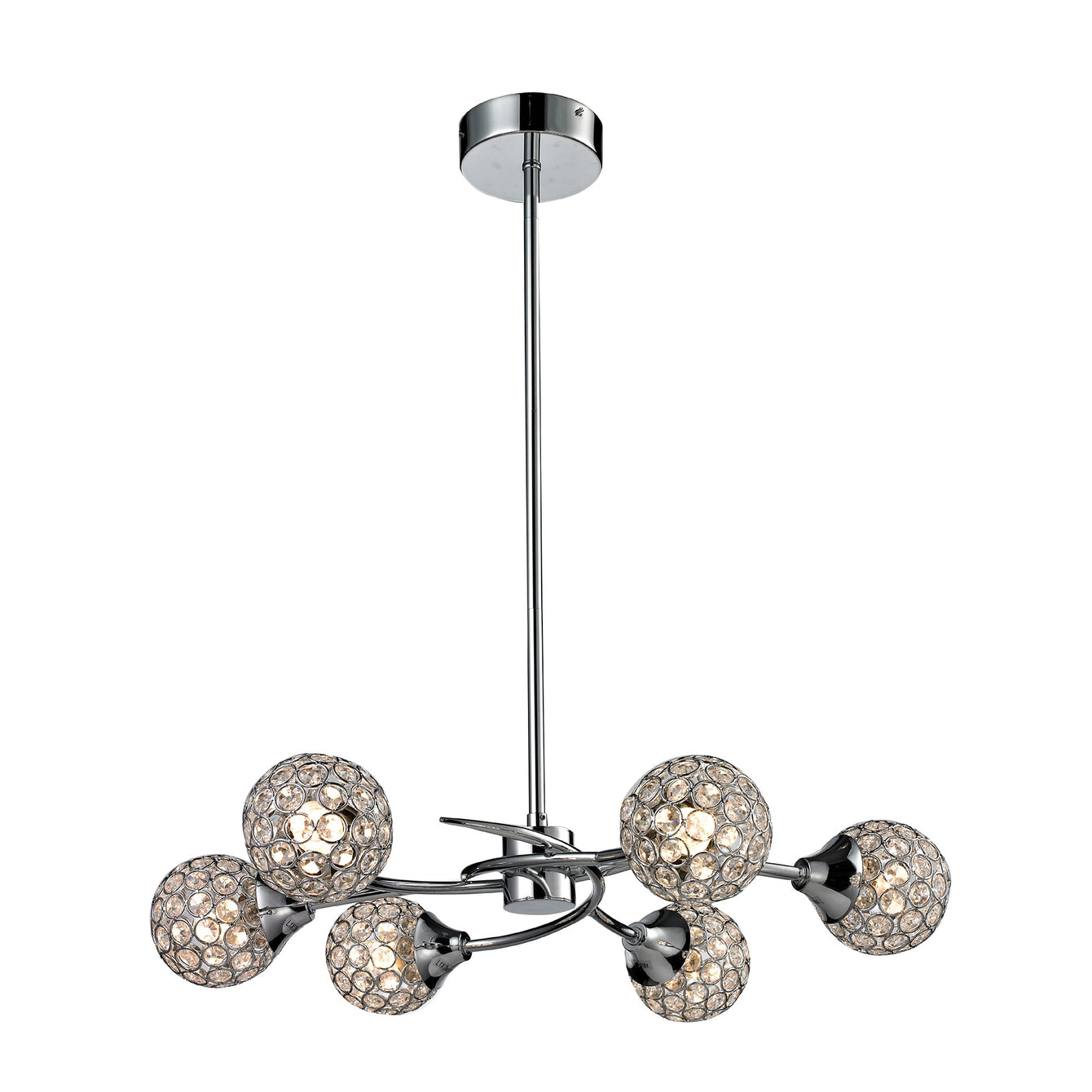 Gloucester 6 Arm Pendant LED Light - Buy It Better Default Title
