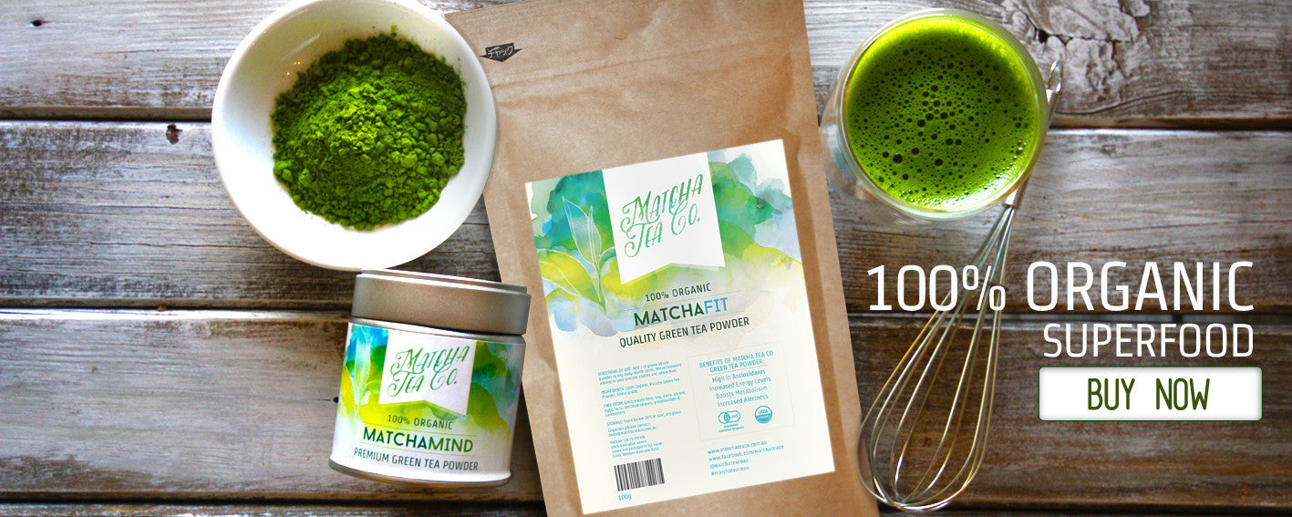 Matcha Tea Co - 100% Organic Green Tea Powder, Free Shipping in Aus, Best Value Matcha Powder in Aus.