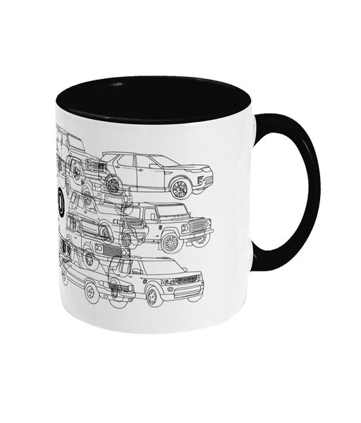 Land Rover Carvolution® 70 Mug