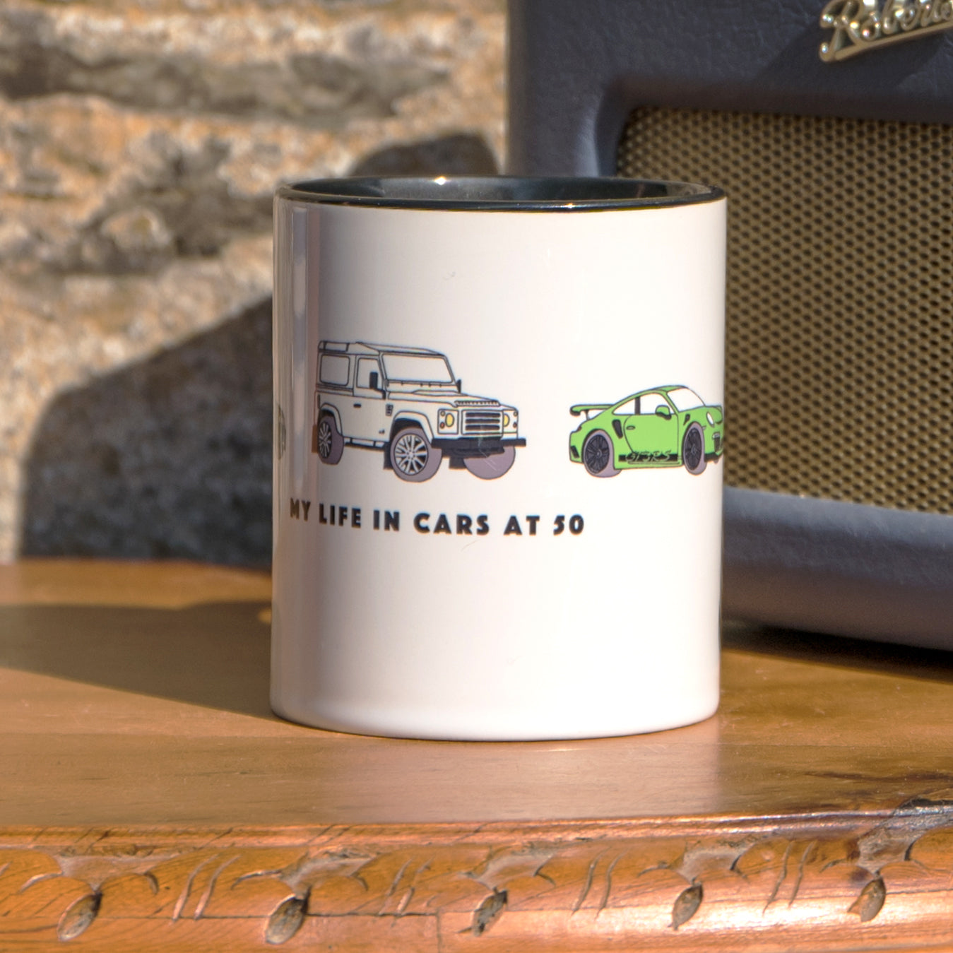 Car mug for fathers day