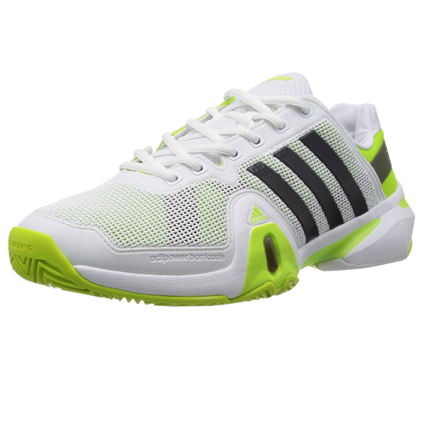 Adidas Adipower Barricade 8 Mens Tennis sneakers Shoes - White