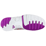 Adidas Women's Bercuda 2 Tennis Shoes-White-Pink-10
