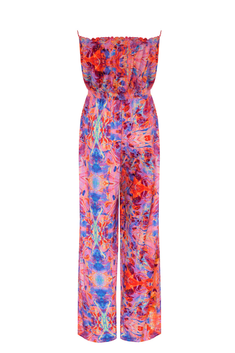 PINK FIRE JUMPSUIT