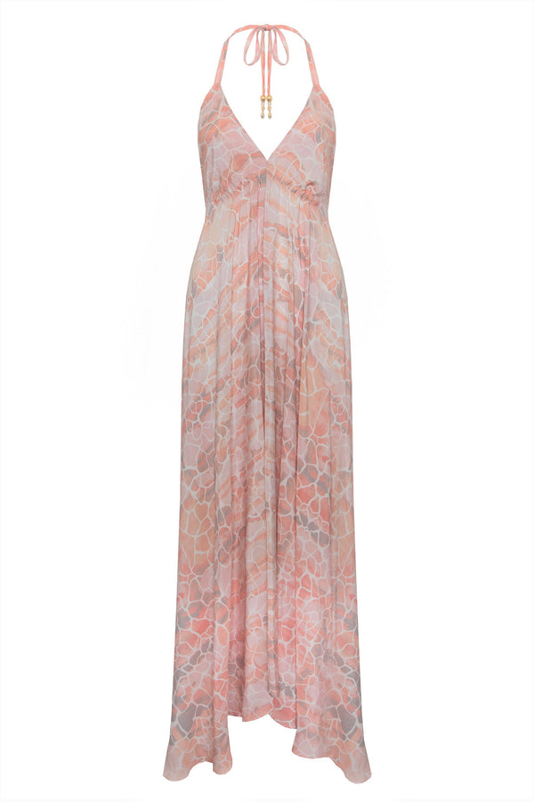 BLUSH PEBBLES IBIZA DRESS