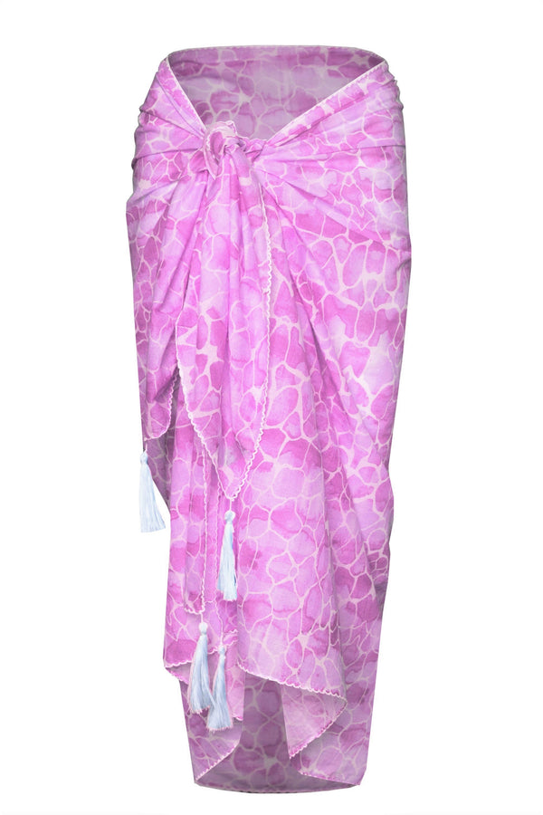 PINK PEBBLES COTTON SARONG