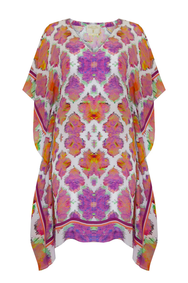 SUNSET PARADISE SILK KAFTAN