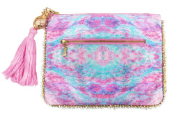 FANTASY PINK CLUTCH BAG
