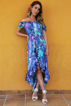 OCEAN CURRENT BARBADOS BARDOT DRESS