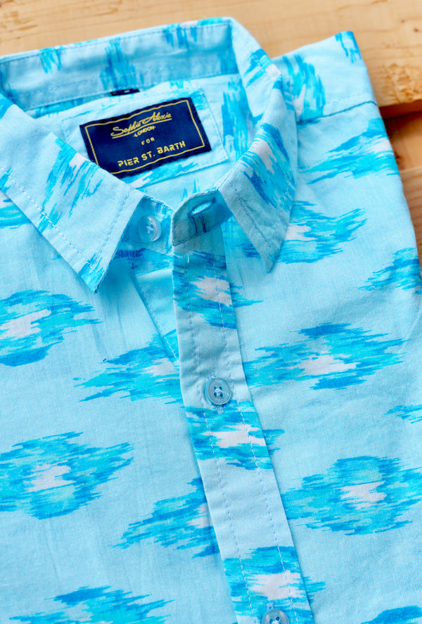 AQUAMARINE DREAM MENS SHIRT