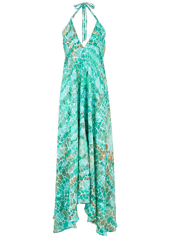 AQUA PEBBLES IBIZA DRESS