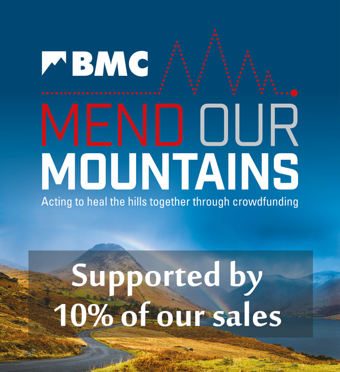 We're now supporting the BMC's Mend our Mountains campaign!