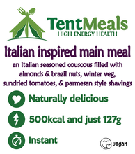 Italian inspired main meal - 500 kcal ***25% off: short Best Before date***