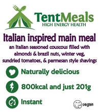 Italian inspired main meal - 800 kcal ***25% off due to cosmetic error***