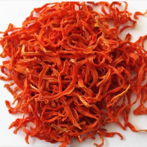 Dried carrot strips, 400g