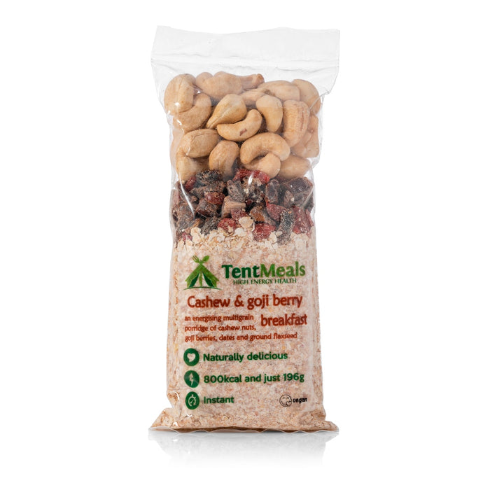 Cashew and Goji Berry Breakfast - 800 kcal ***40% off: short Best Before date: April 2021***
