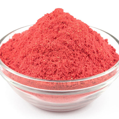 Freeze dried strawberry powder, 100g ***40% off: short Best Before date: July 2021***