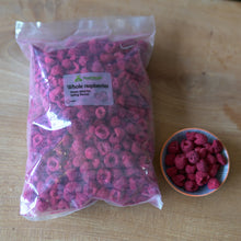 Freeze dried whole raspberries - 20g, 200g, 10kg