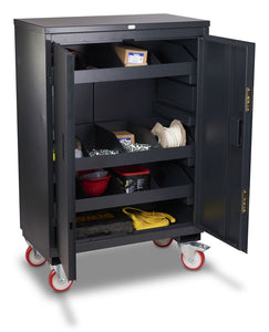 Metal Cabinet with Tools