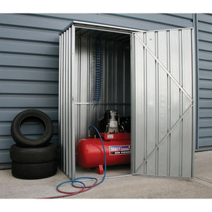 metal outdoor storage container